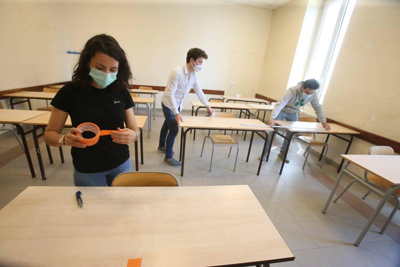 Seulement la moitié des effectifs scolaires reprendront les cours.