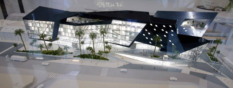 Le bâtiment Iconic dessiné par Daniel Libeskind