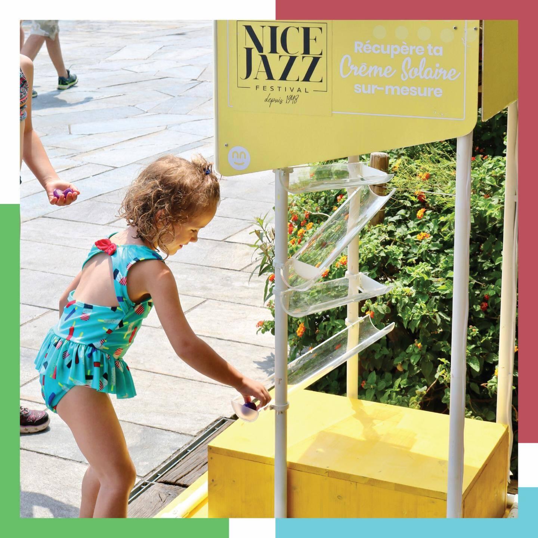 La borne utilisée l'an dernier au Nice Jazz Festival