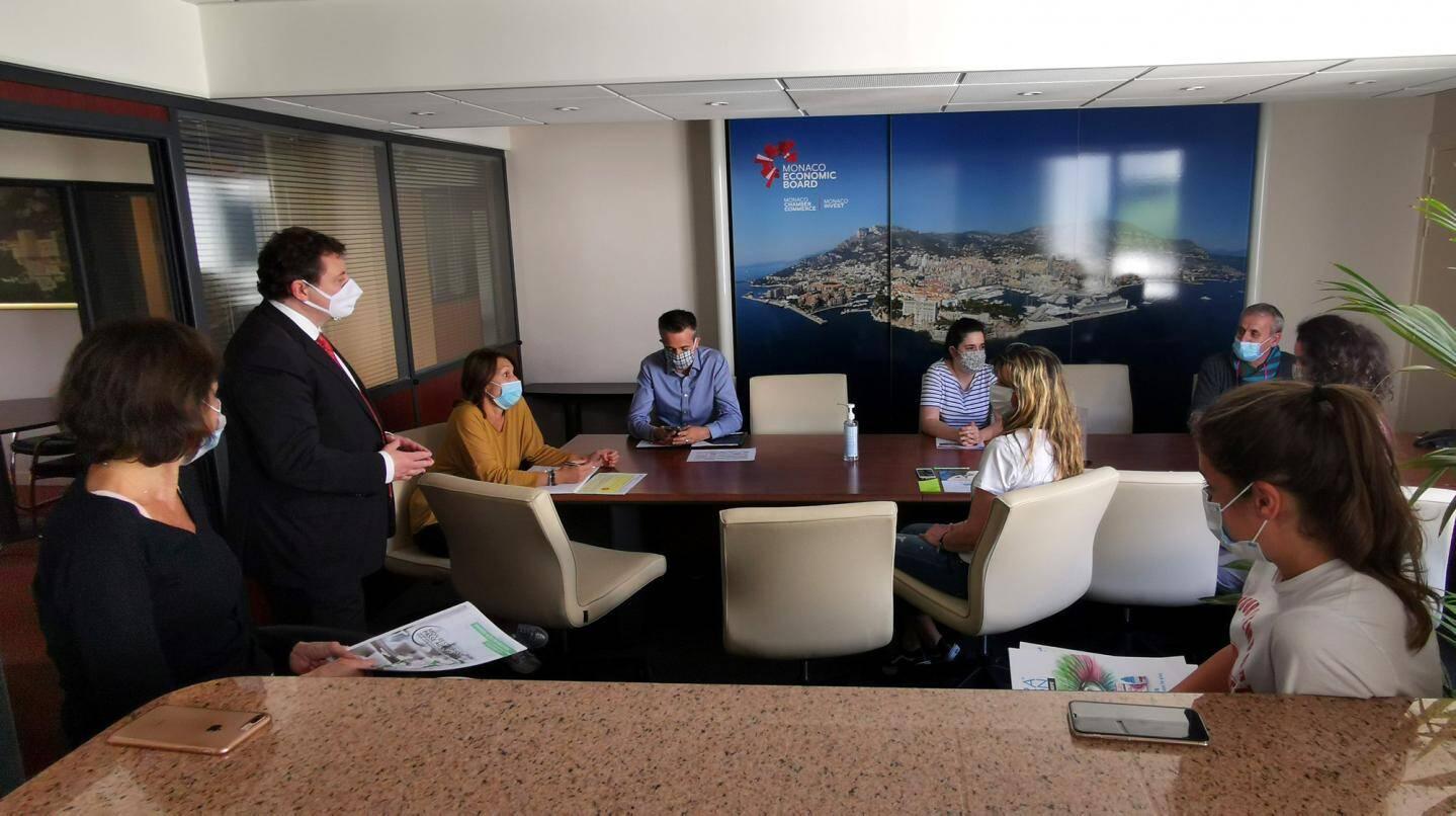 Au Monaco Economic Board, l'activité, qui se poursuivait en télétravail, a repris physiquement lundi.