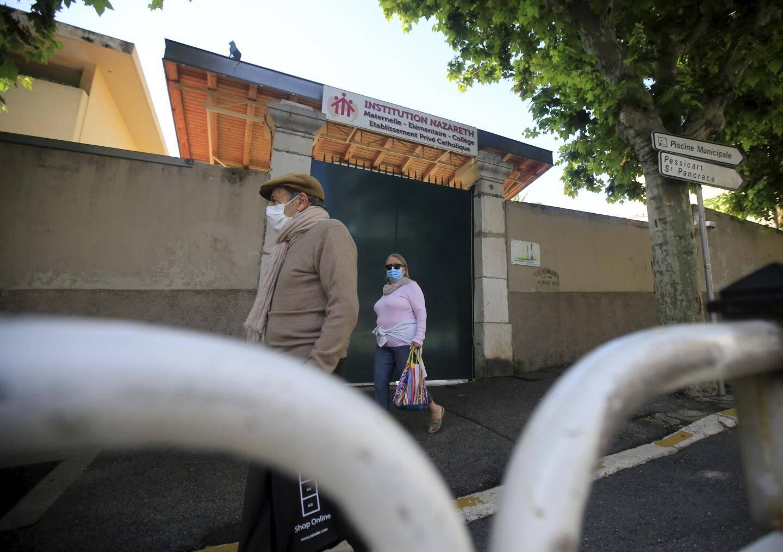 Le préfet des Alpes-Maritimes a pris un arrêté de fermeture de l'école élémentaire et de la maternelle de l'institution Nazareth jusqu'au 26 mai.