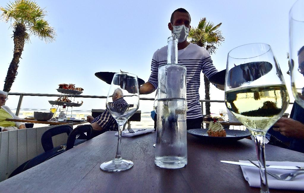 Réouverture d'un restaurant avec vue sur le bassin d'Arcachon le 2 juin 2020