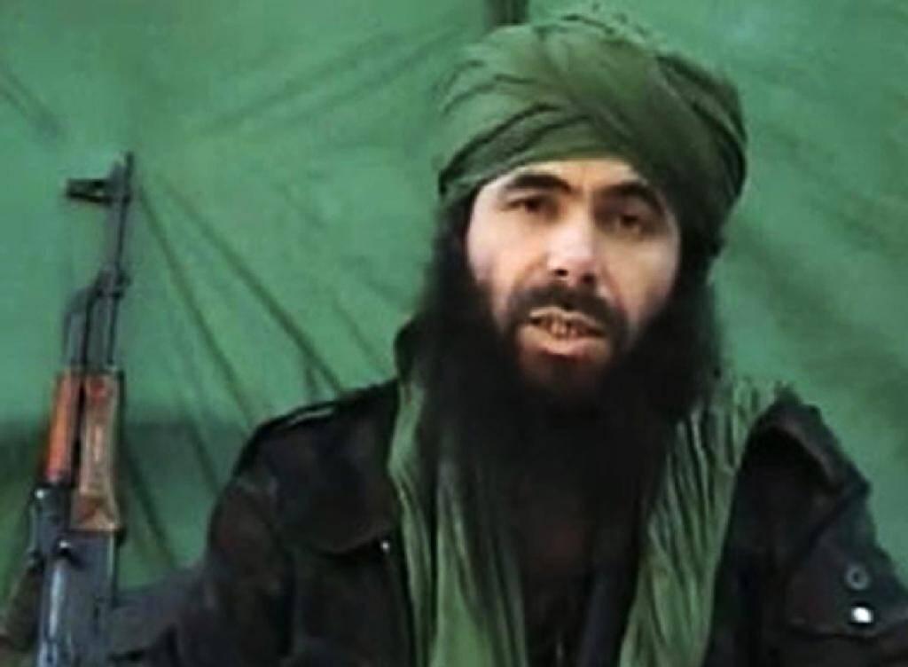 Le leader d'Al Qaïda au Maghreb islamique (AQMI), l'Algérien Abdelmalek Droukdal dans un lieu non identifié, le 26 juillet 2010