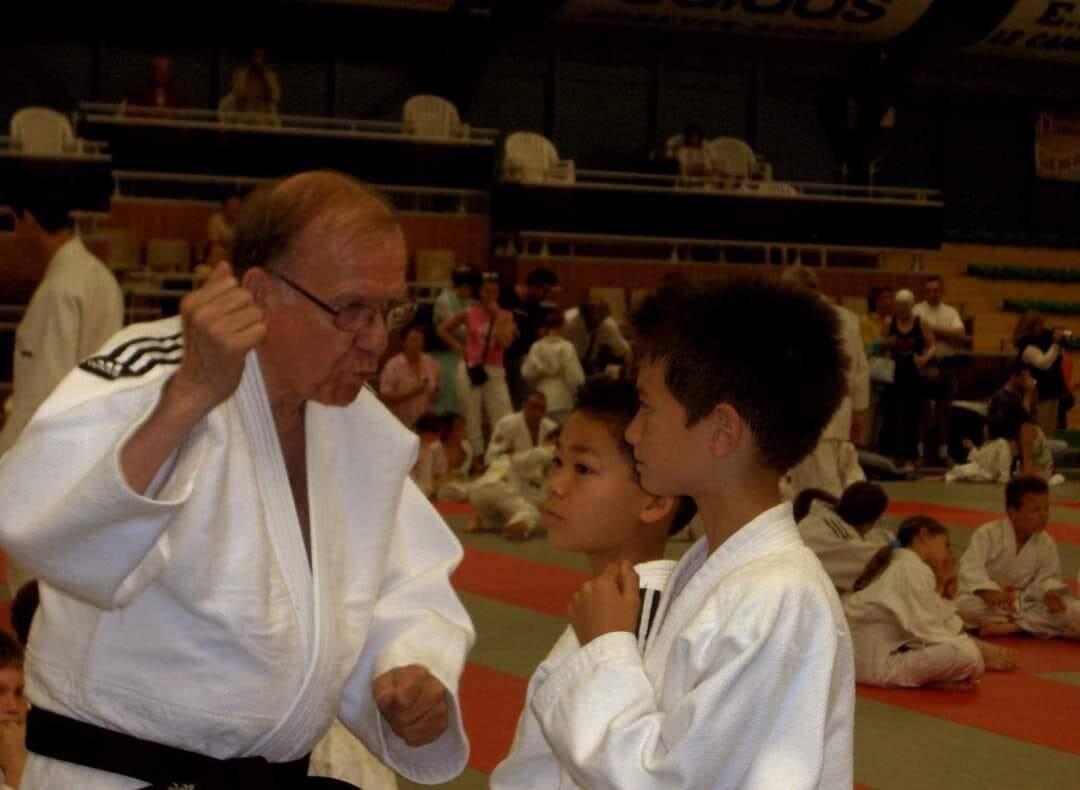 La communauté du judo à Cannes perd un père spirituel.