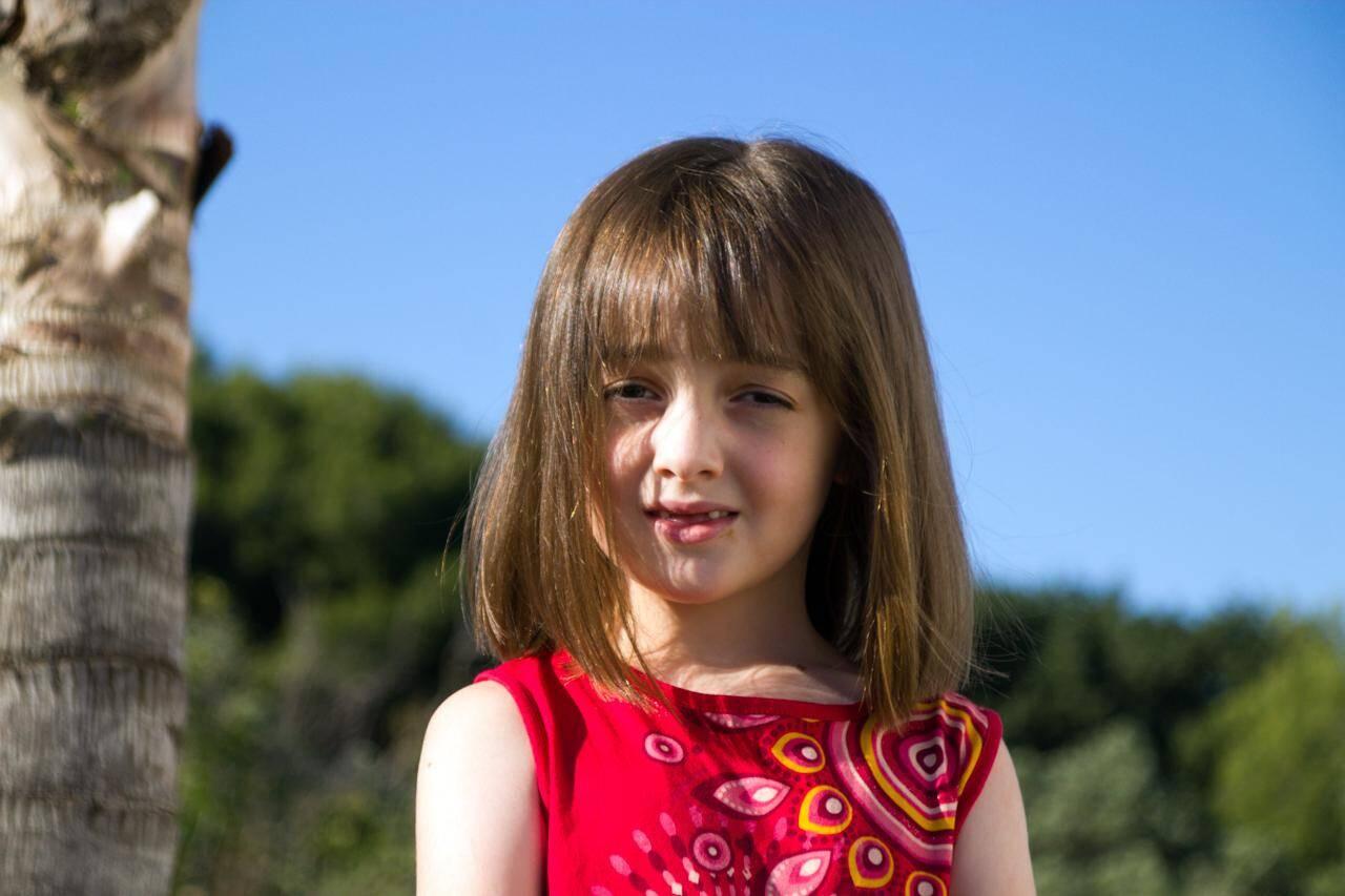 Elle est fin prête pour rentrer en CP en septembre, dans l'école des grands.