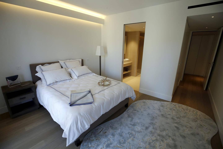 Chaque chambre dispose d'une salle de bains privée et de prestations soignées.