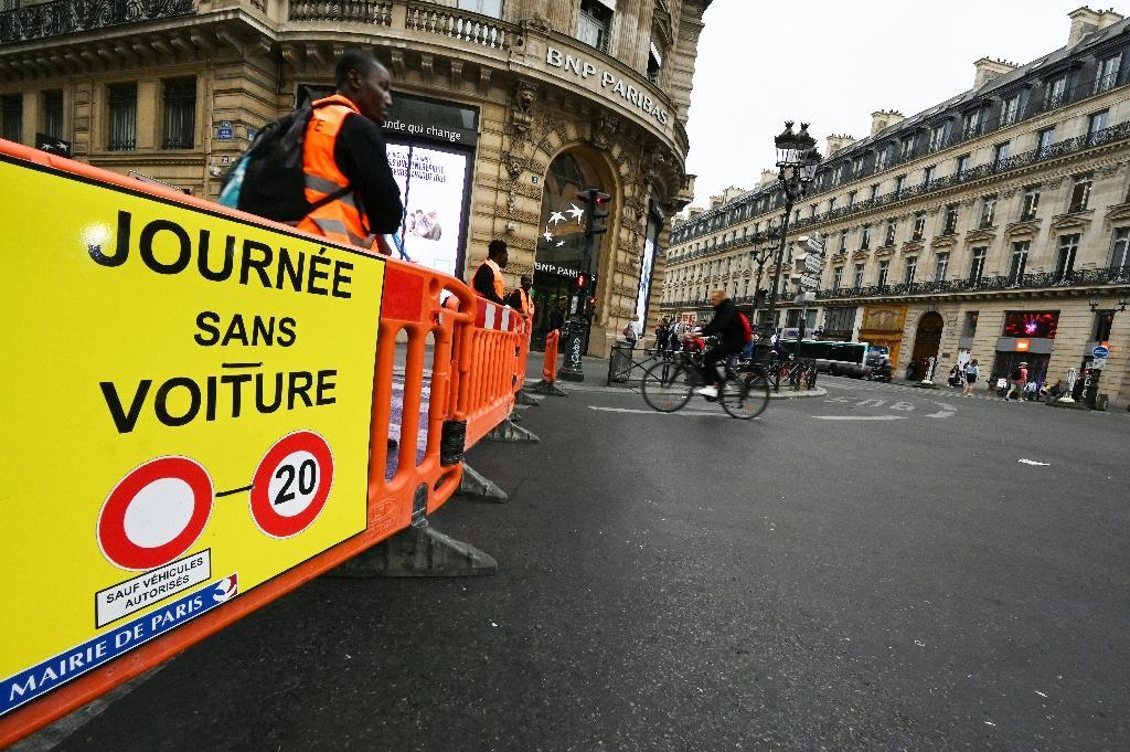 Appel à une journée sans voiture à Paris le 22 septembre 2019