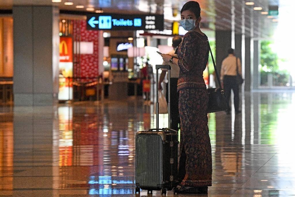 L'aéroport international de Singapour, le 8 juin 2020