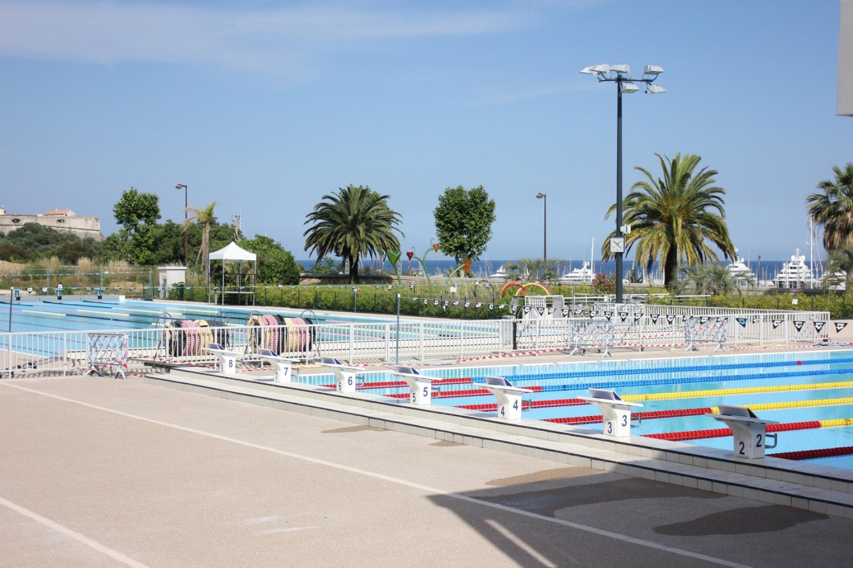 Le stade nautique d'Antibes.