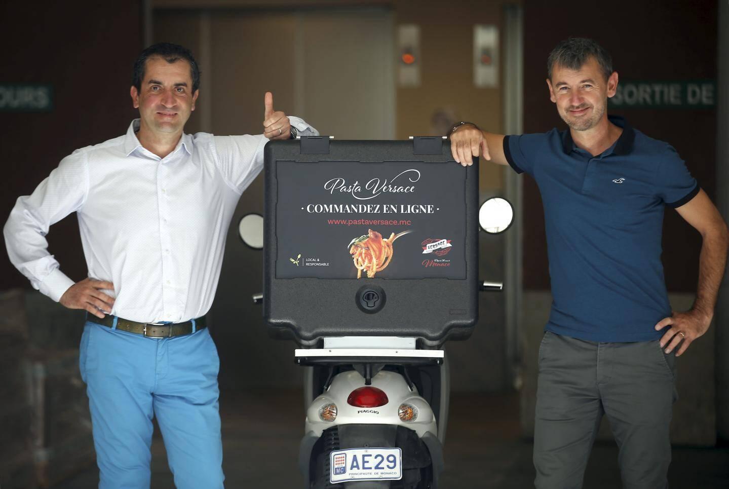 Fabio Versace et Stéphane Langlois, le tandem qui dirige l'entreprise.