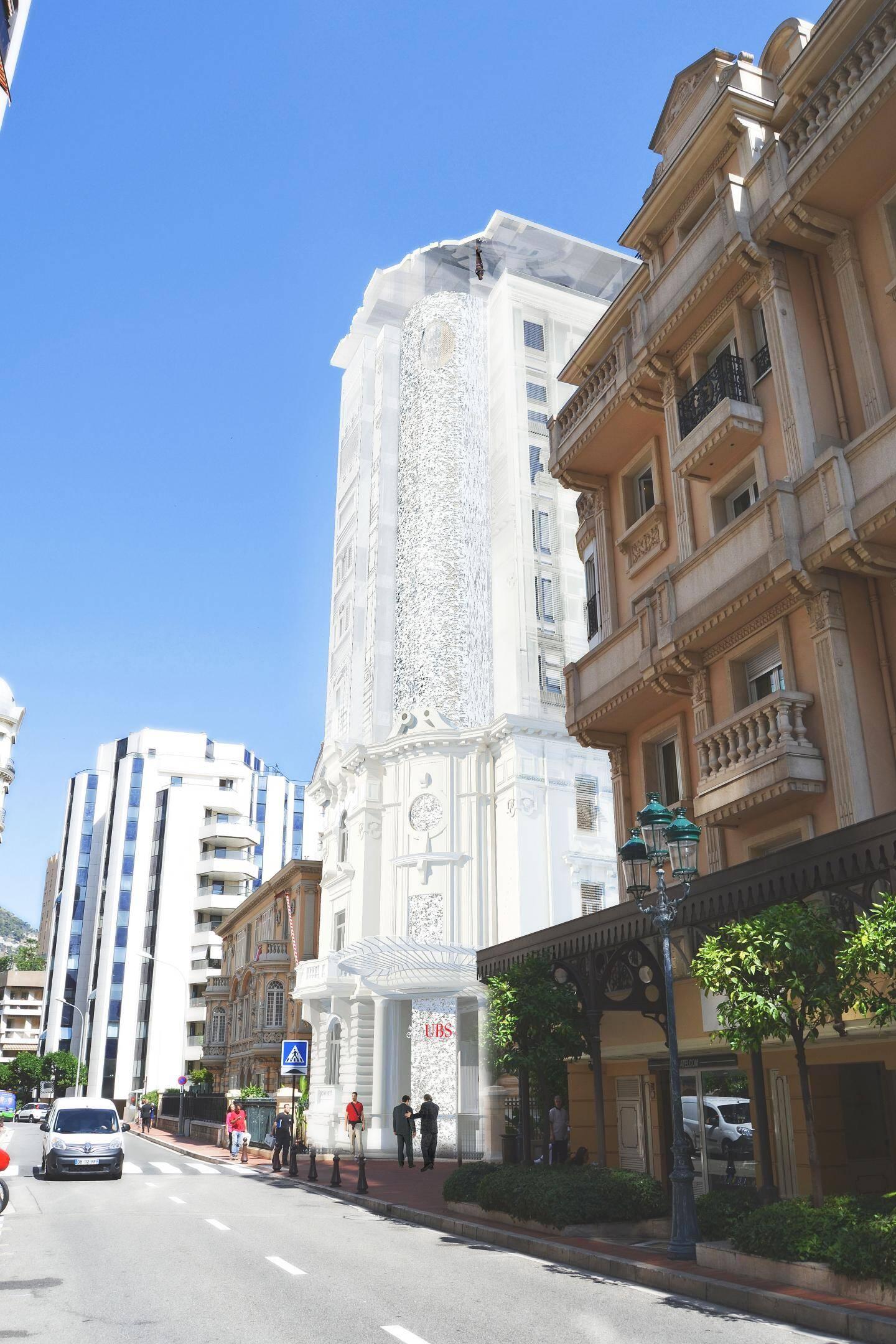 Une enveloppe de verre sérigraphiée sera apposée autour du bâtiment du XIXe siècle.