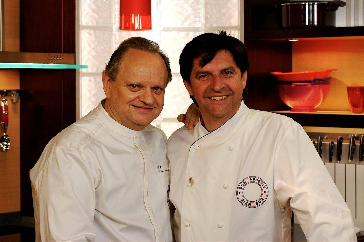 Il avait participé à l'émission culinaire de Joël Robuchon en 2008.(DR)
