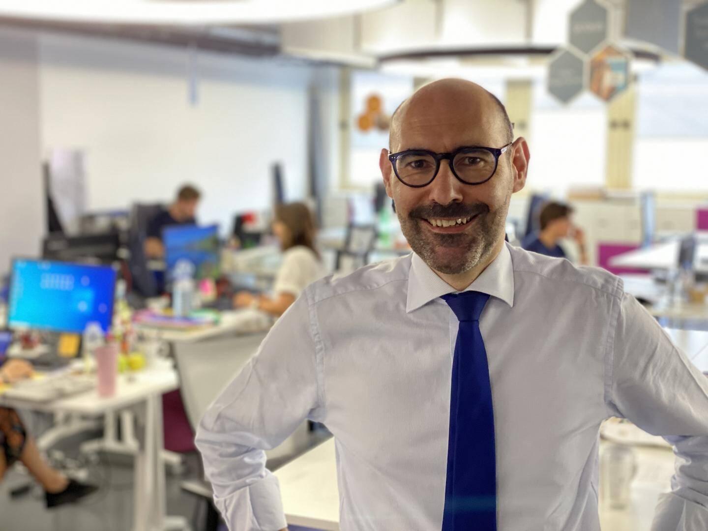 """Lionel Galfré, le directeur de l'incubateur monégasque, a sélectionné cinq entreprises qui répondent """"aux valeurs de MonacoTech : l'innovation, l'utilité et l'humain"""""""
