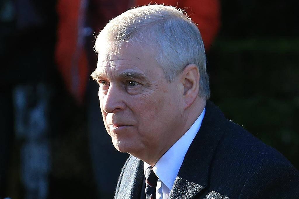 Le prince Andrew, le 19 janvier 2020 à Hillington