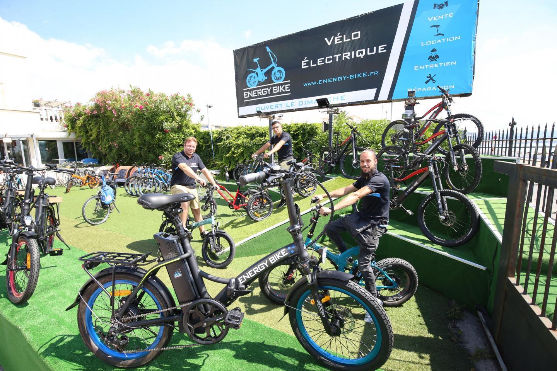 Chez Energy Bike, la reprise s'est faite deux temps, avec les habitués pour de l'entretien et ensuite avec des curieux qui sont passés à l'acte d'achat pour changer leurs habitudes.