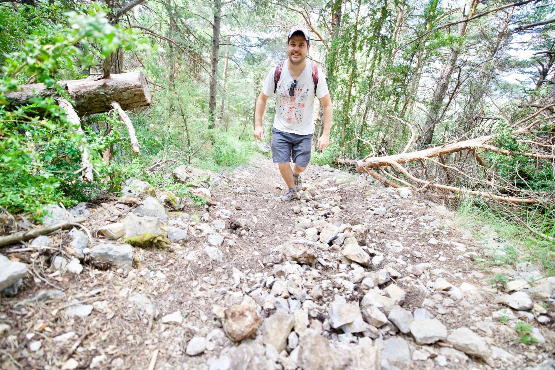 Randonnée au Mont Lachens