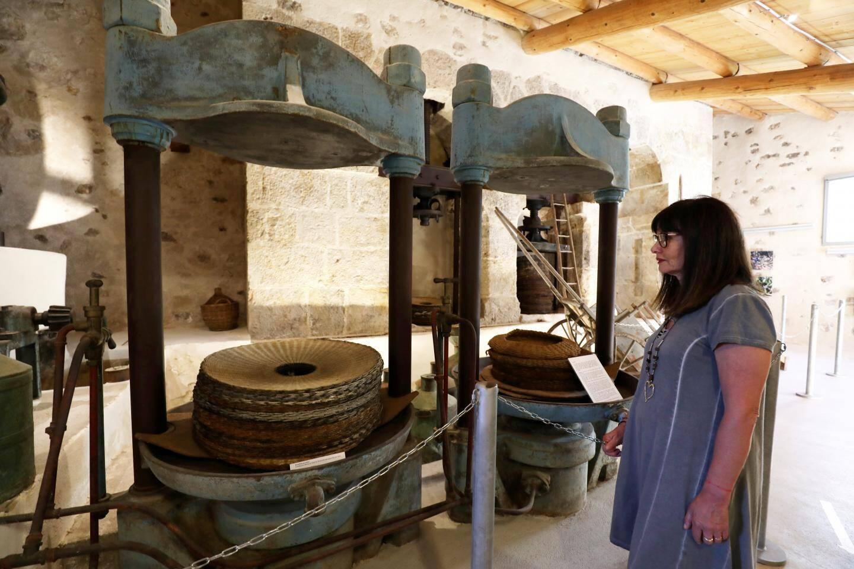 L'ancien moulin à huile de Callas.