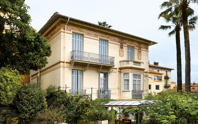 La villa Les Mouettes.