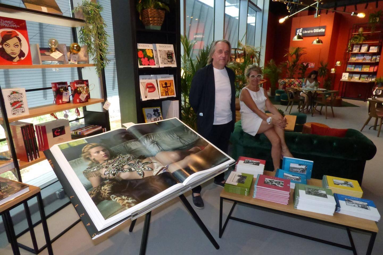 En parallèle, la librairie Gilletta accueille la librairie la Sorbonne de Nice qui présente des ouvrages d'art (parfois XXL!) des éditions Taschen.