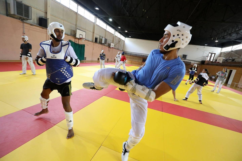 Sur les 17 athlètes présents à ce stage, la plupart espèrent participer au tournoi qualificatif.