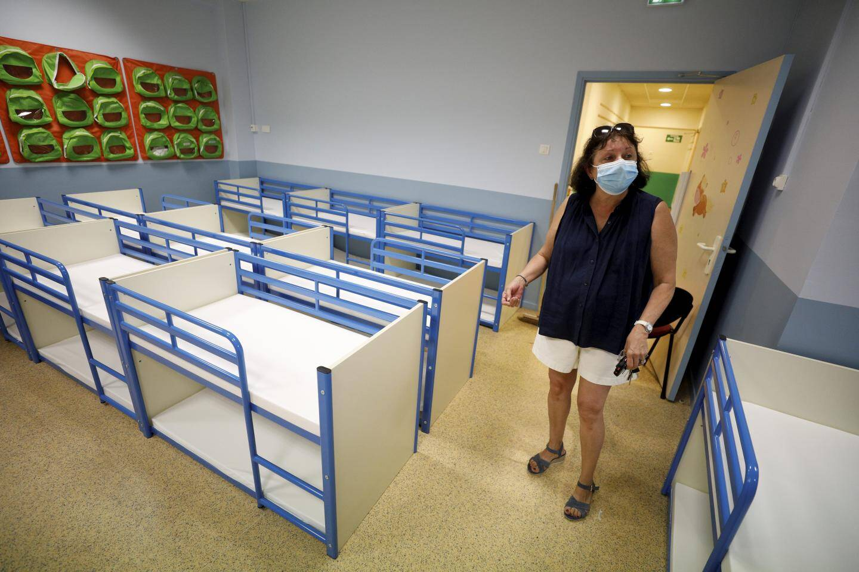 L'école de La Turbie se prépare pour la rentrée.