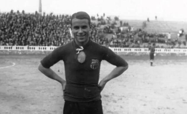 Josep Samitier (ici au FC Barcelone).