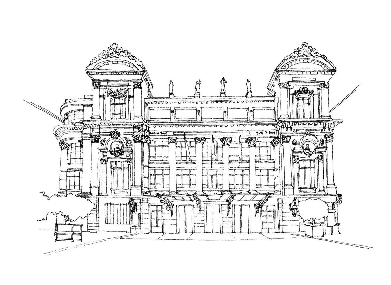 L'opéra de Nice.