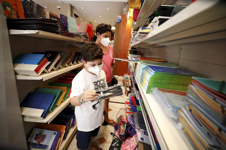 Les papeteries s'occupent aussi des listes des élèves pour la rentrée scolaire.