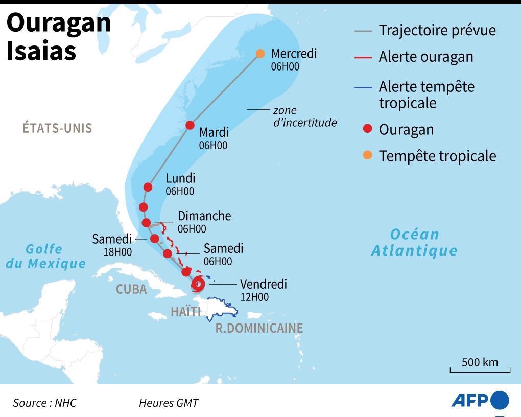 Ouragan Isaias