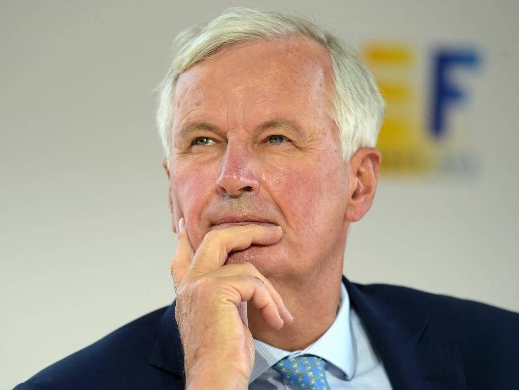 Le négociateur de l'UE pour le Brexit Michel Barnier, le 26 août 2020 à Paris