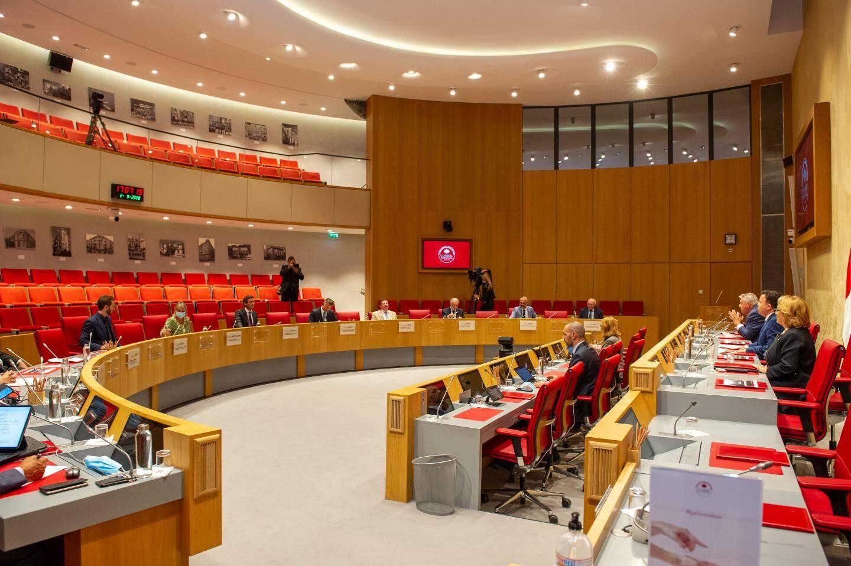 Mercredi, les président(e)s de commissions ont présenté leurs dossiers majeurs en cours au nouveau ministre d'État, Pierre Dartout.
