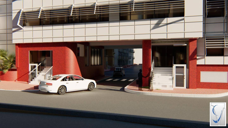 Les entrées du service Résidents et de l'accueil général donneront sur la rue Suffren-Reymond.