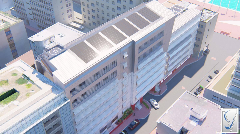Le bâtiment de la Sûreté publique va gagner deux étages et passer de 3.000 à 6.000 m2 de surface générale.