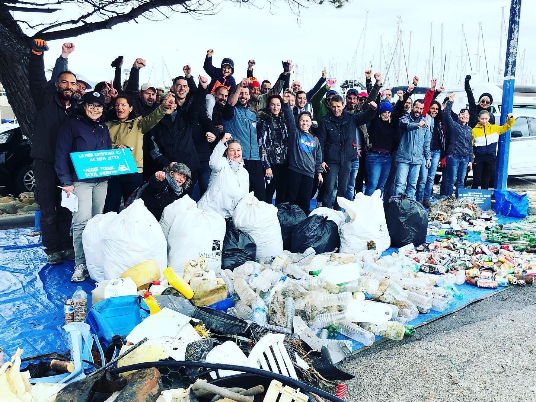 Le bilan d'une matinée de déchets récoltés par les bénévoles sur le littoral hyérois.