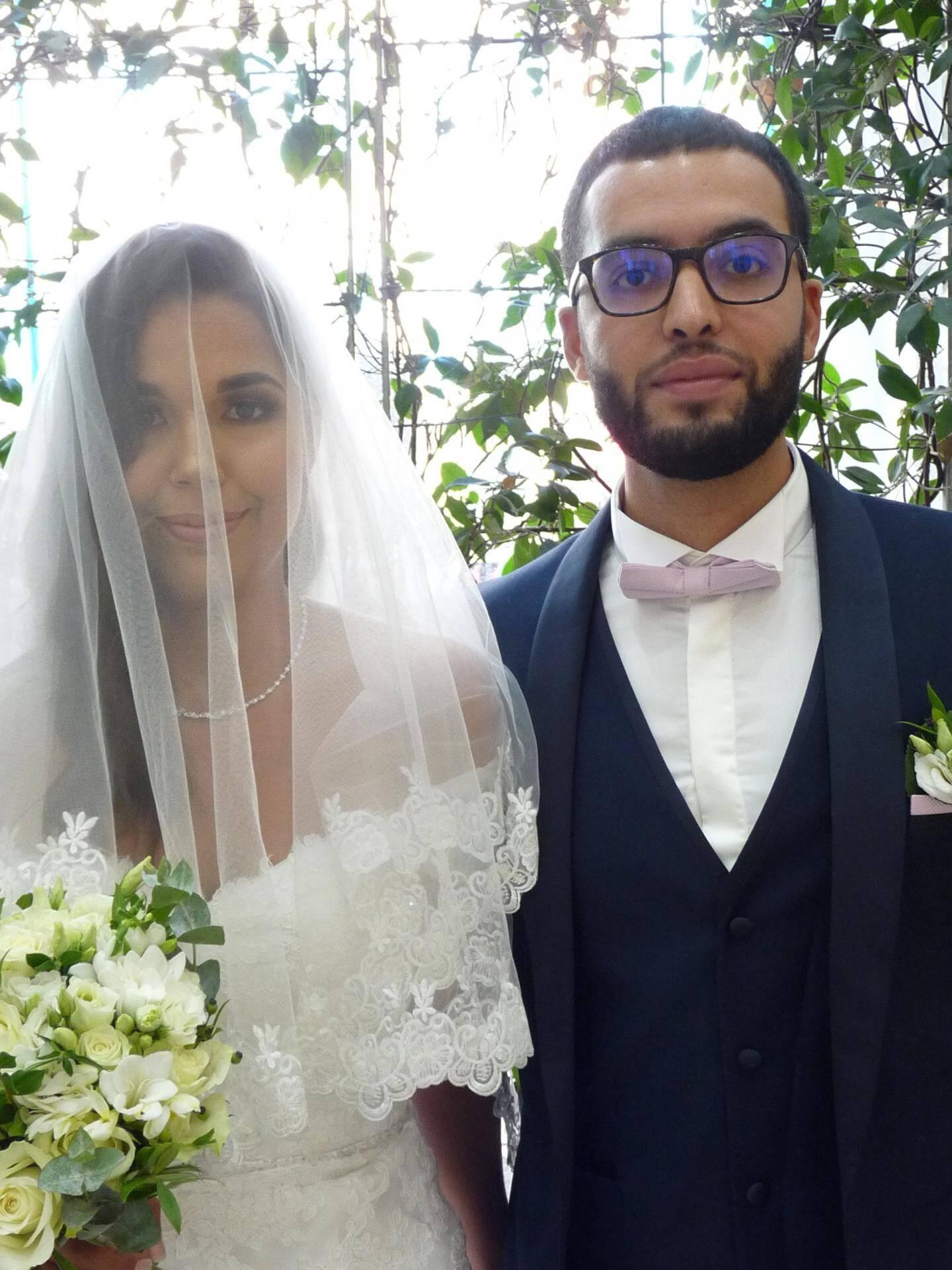 Amèle Allouani et Saad Mounan, ingénieurs en travaux.