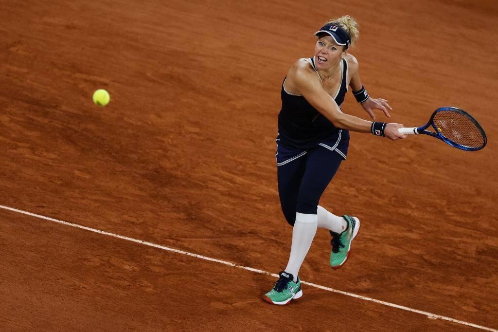L'Allemande Laura Siegemund face à Kristina Mladenovic à Roland-Garros, le 29 septembre 2020