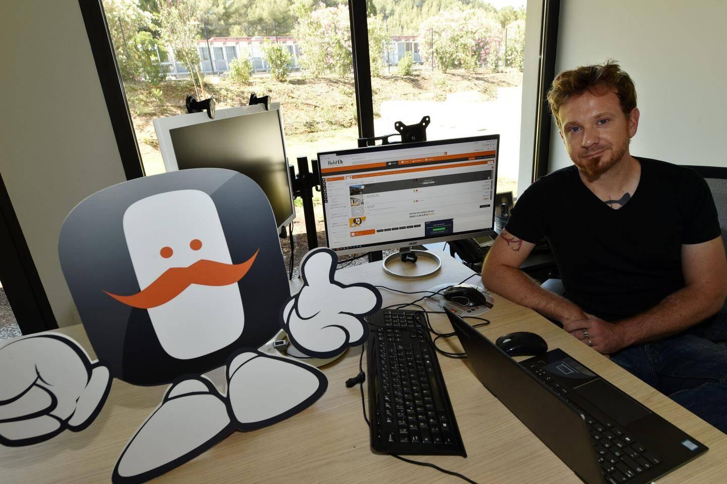 Le logiciel Hektor, symbolisé par un moustachu, compte plus de 35.000 utilisateurs.