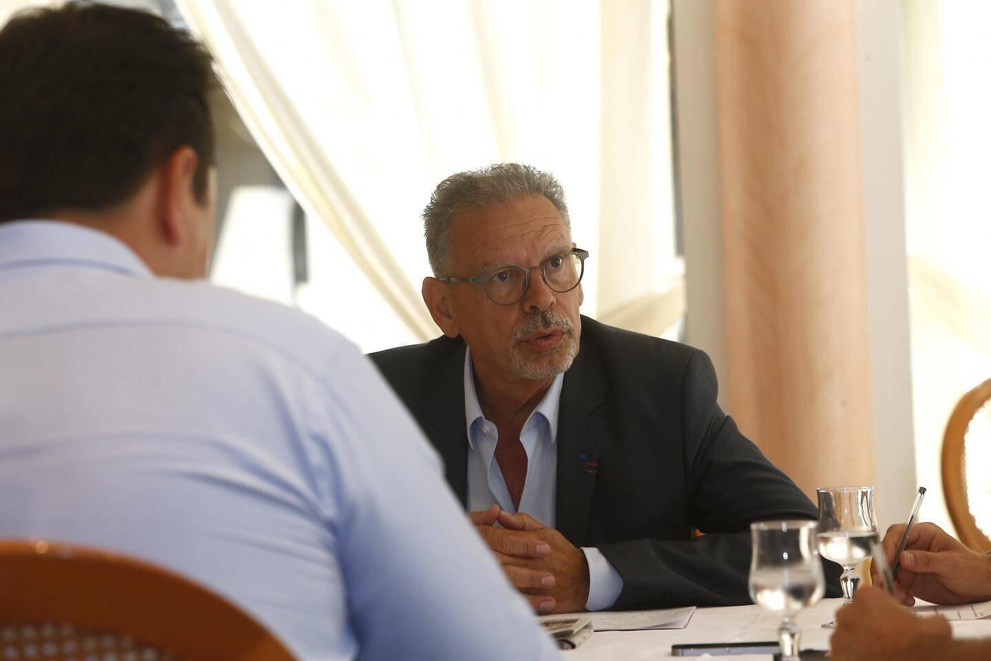 Jean-Louis Masson, maire de La Garde.