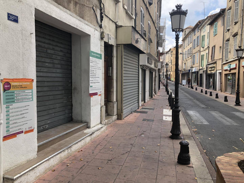 Acquis par VAD, une quinzaine de locaux commerciaux vont être rénovés et proposés à la location au centre-ville.