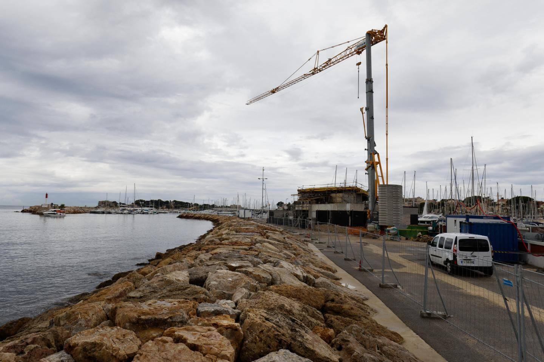 """Pour Philippe Rocheteau, ce qui est important, c'est """"d'avoir le bâtiment pour avril 2021""""."""