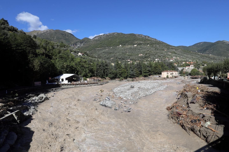 Les villages de la Roya ont été durement touchés par la tempête.