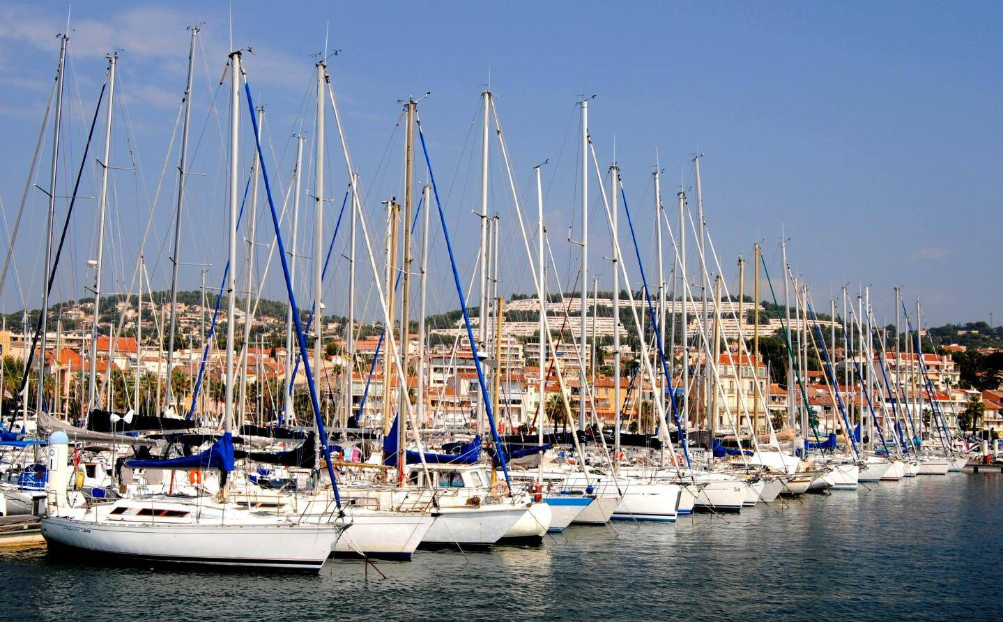 Neuvième port de plaisance de France avec 1 700 anneaux, il accueille de nombreux évènements nautiques Le port est équipé d'une station d'avitaillement et d'une aire de carénage ouvertes toute l'année, et propose des postes de 5 à 40 mètres en escale, saisonnier ou à l'année.