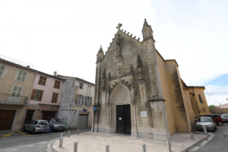 La chapelle Notre Dame du Peuple à Draguignan.