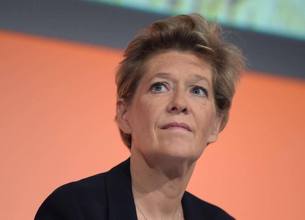Fabienne Dulac, présidente d'Orange France, en mai 2018 à Paris