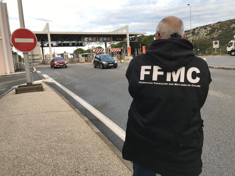 La Fédération française des motards en colère (FFMC) des Alpes-Maritimes.