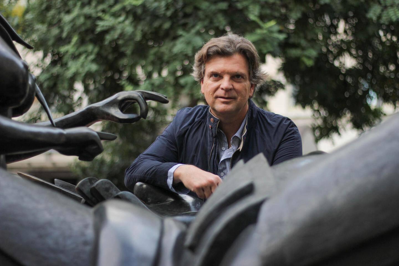 Nicolas Matile-Narmino, président de l'Union des commerçants et artisans  de Monaco.