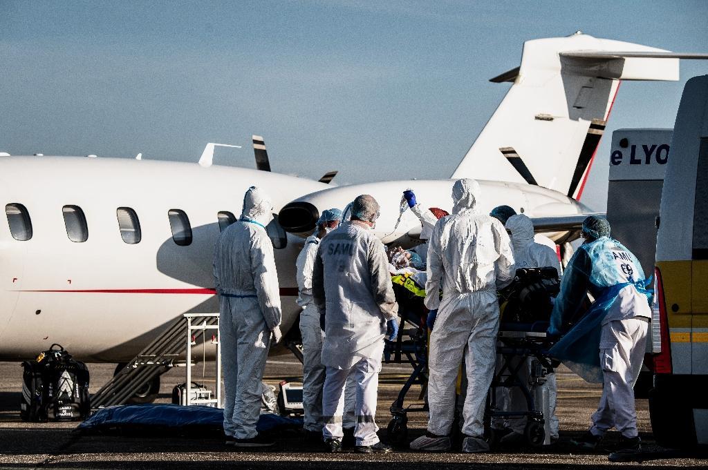 Un malade du Covid est transféré de Lyon vers Paris le 9 novembre 2020