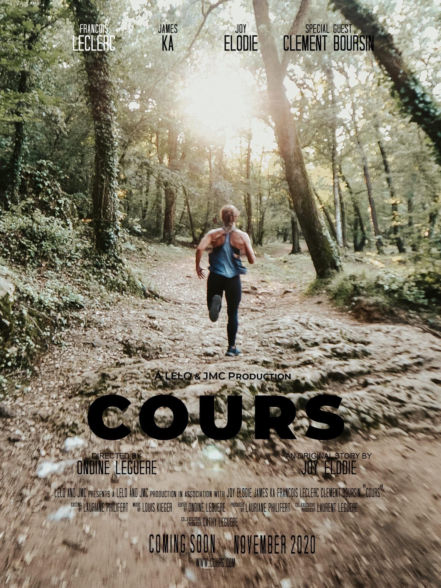 """Affiche du mini-film """"Cours"""""""