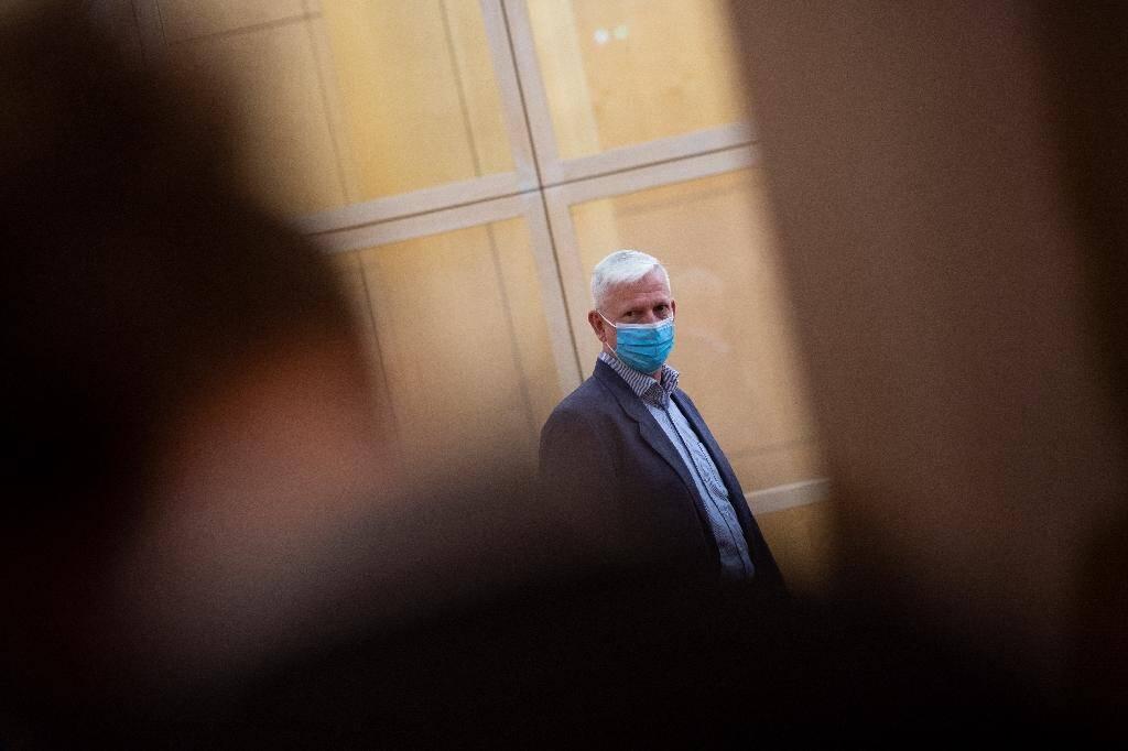 Le général Francis Chanson au tribunal correctionnel de Rennes le 23 novembre 2020