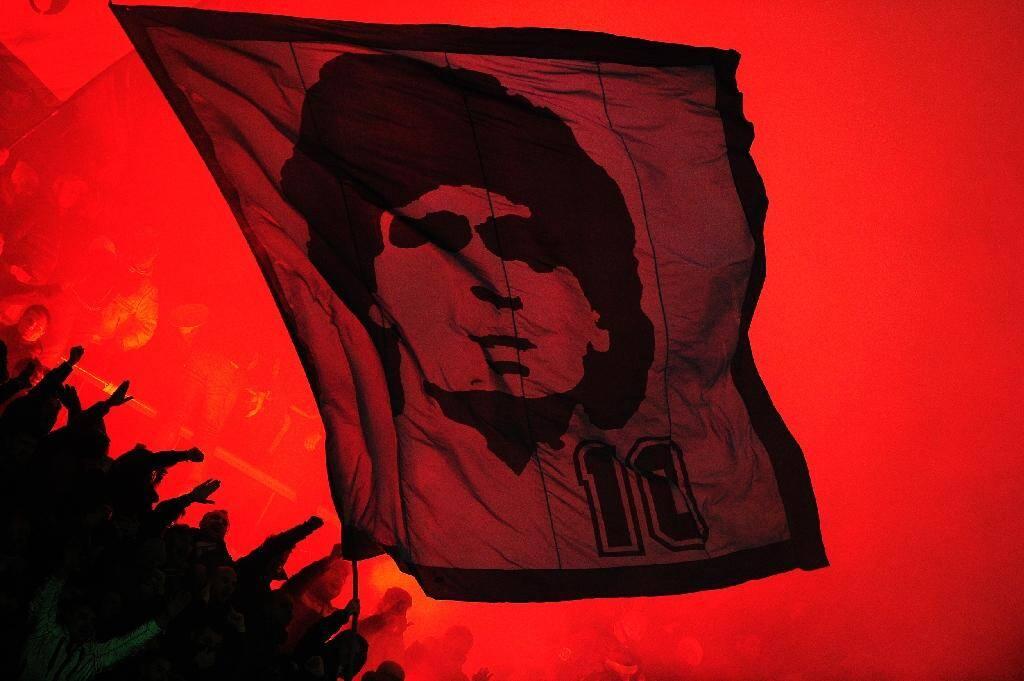 Napoli fans idolised Diego Maradona